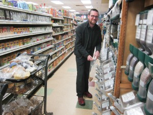 Shutterbug shopping for backpacking food