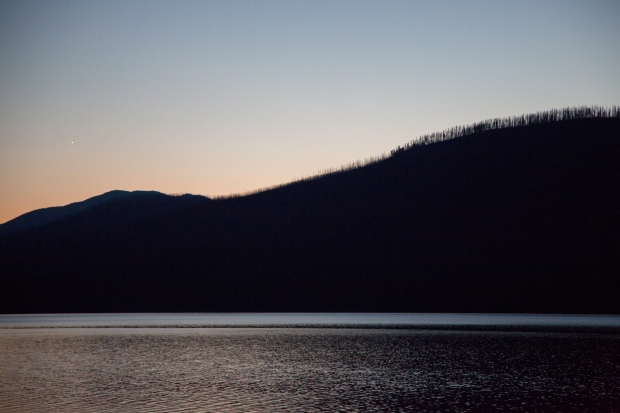 Evening light on Lake McDonald
