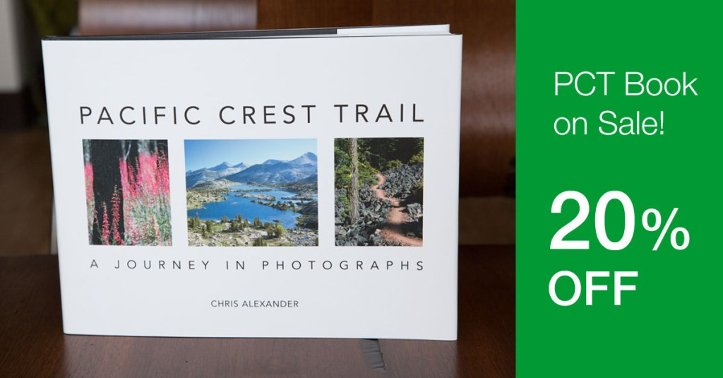 Pacific Crest Trail Photo Book on Sale