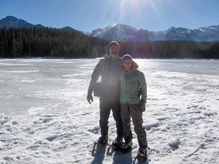 Bierstadt Lake in January