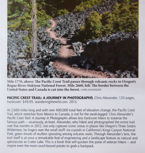 High Country News Review of Pacific Crest Trail: A Journey in Photographs