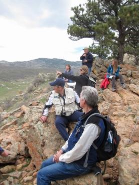 Geology lesson on hogbacks