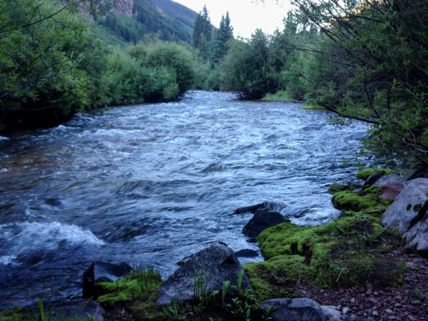 Maroon Creek in the early morning