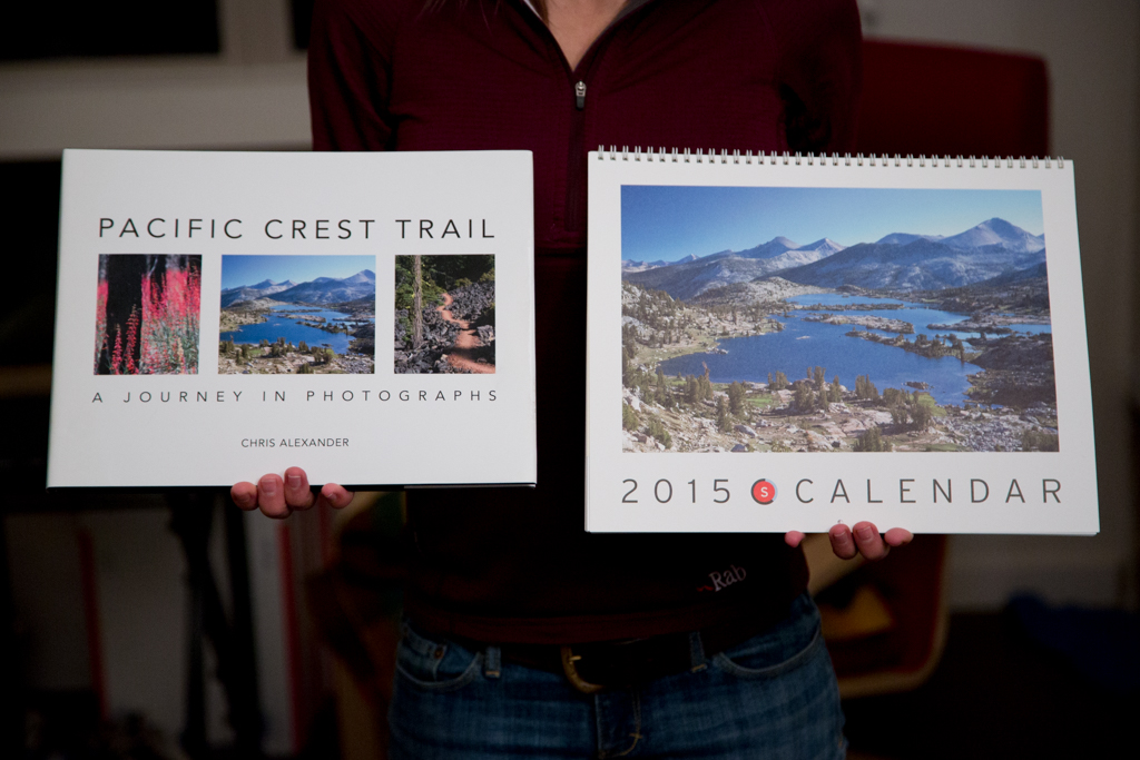 Pacific Crest Trail Book and Calendar