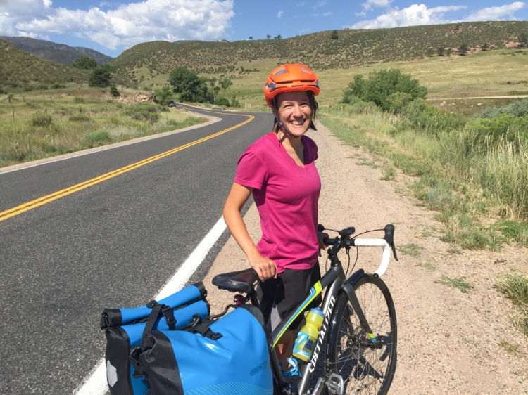 Biking to Lory State Park